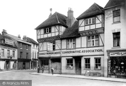 Romsey, Conservative Club 1903