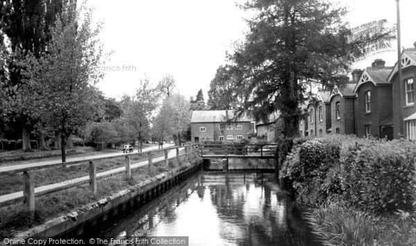 Romsey,Fox Mill on the By-Pass c1960,Hampshire