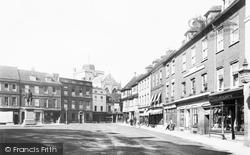 Romsey, Market Place 1899