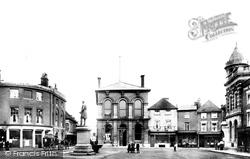 Romsey, Market Place 1904