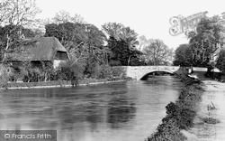Romsey, Middlebridge And River Test 1932