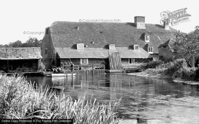 Romsey,Sadler's Mill c1955,Hampshire