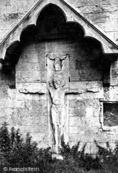 Romsey, The Abbey Crucifix 1898