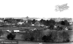 Romsey, The Abbey From Greenhill 1903