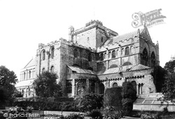 Romsey, The Abbey, From The South East 1898