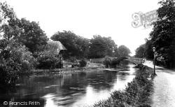 Romsey, The Bridge 1898