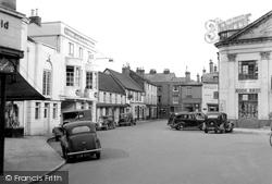Romsey, The Corn Market c.1955