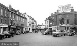 Romsey, The Market Place c.1960