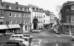 Romsey, The Square c.1965
