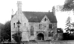 Romsey, The Vicarage 1932