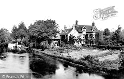 Romsey, View From Romsey Bridge 1898