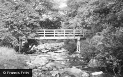 The Woods Bridge c.1955, Rookhope