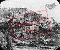 Corniche Road c.1879, Roquebrune Cap Martin