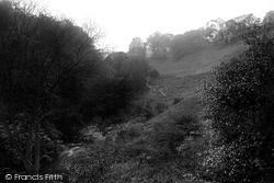 Roslin, Castle From The Glen 1897