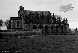 Roslin, Rosslyn Chapel c.1950