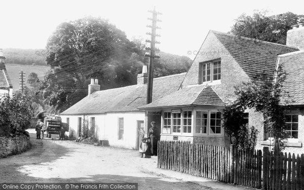 Photo of Rosneath, Post Office, The Clachan 1904