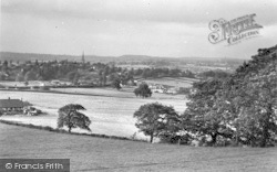 Ross-on-Wye, From Chase Hill c.1955
