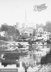 Ross-on-Wye, From The River 1893