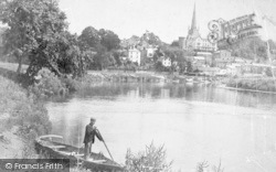 Ross-on-Wye, From The River c.1900