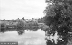 Ross-on-Wye, From The River c.1955