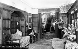 Ross-on-Wye, Pengethley Entrance Hall c.1955