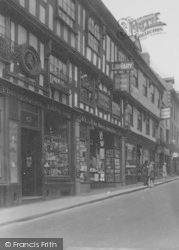 Ross-on-Wye, Stationer And Newsagents 1931