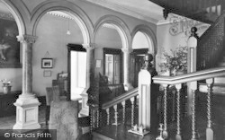 Ross-on-Wye, The Chase Hotel, The Hall c.1950