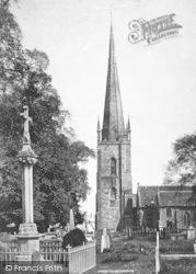 Ross-on-Wye, The Church c.1890