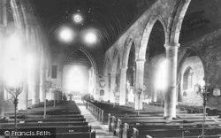 Ross-on-Wye, The Church Interior 1891