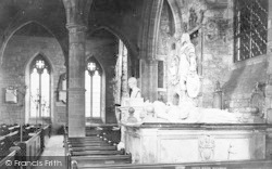 Ross-on-Wye, The Church Interior c.1878