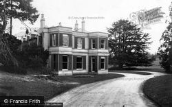 Ross-on-Wye, The Drive, The Wye Hotel c.1950