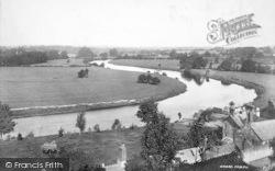 Ross-on-Wye, The Horseshoe Bend 1901