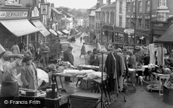 The Market In Broad Street c.1955, Ross-on-Wye
