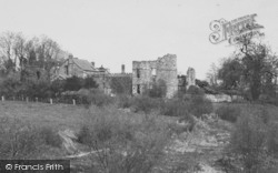 Ross-on-Wye, The Old Castle c.1938