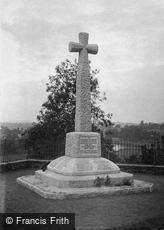 Ross-on-Wye, the War Memorial c1955