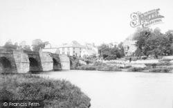 Ross-on-Wye, The Wilton Bridge And Hotel 1891