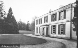 Ross-on-Wye, The Wye Hotel c.1950