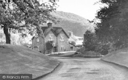 Ross-on-Wye, View From Hotel c.1950
