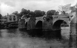 Ross-on-Wye, Wilton Bridge 1906