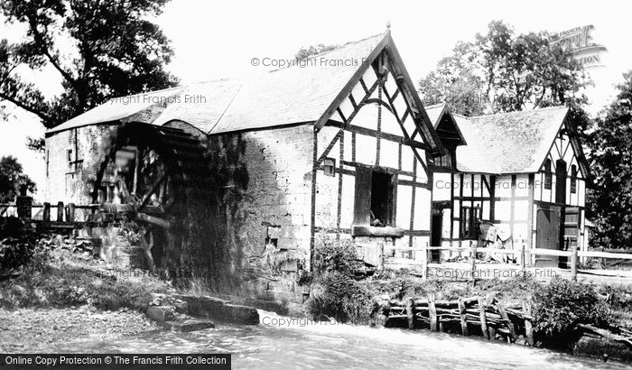 Rossett,the Mill 1895,Clwyd