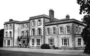 Rossett, Trevalyn Manor Maternity Hospital c1950