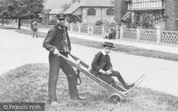 A Delivery Boy c.1900, Rossington