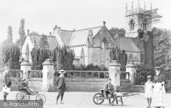 St Michael's Parish Church c.1900, Rossington