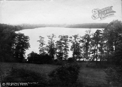 Rostherne, The Mere Towards Bowdon 1892