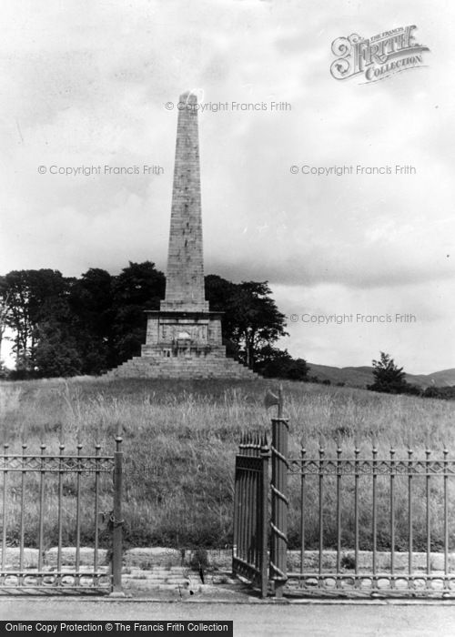 Photo of Rostrevor, The Ross Monument c.1950