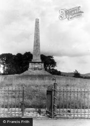 Rostrevor, The Ross Monument c.1950