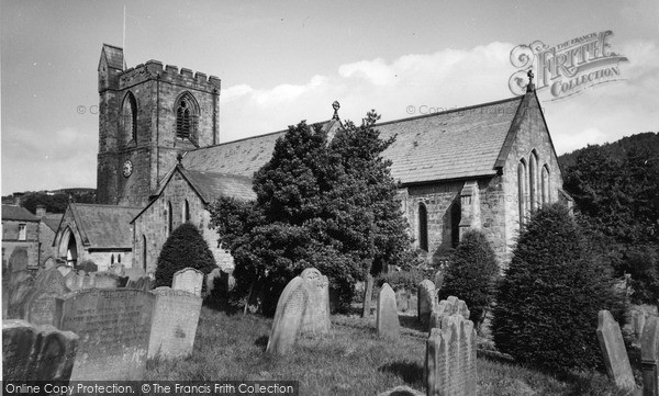 Photo of Rothbury, All Saints Church c.1955
