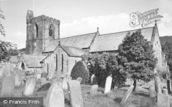 Rothbury, All Saints Church c.1955