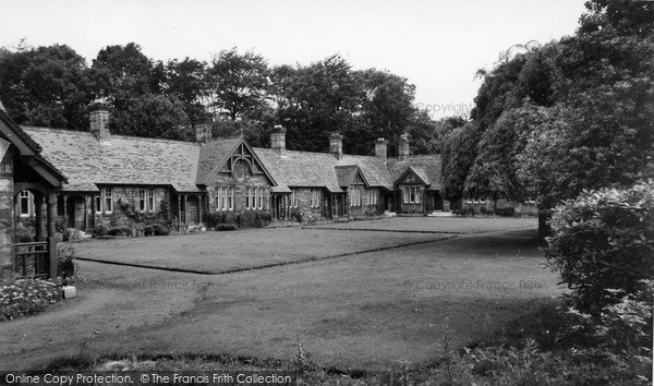 Photo of Rothbury, Armstrong Cottages c.1960
