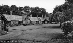 Rothbury, Armstrong Cottages c.1960